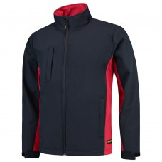 TRICORP JACK SOFTSHELL 402002 BI-COLOR NAVY-ROOD MT.XL