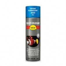 RUST-OLEUM VERF FLUOR BLAUW 2222 SPRAY 500ML
