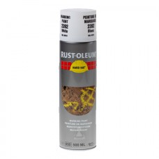 RUST-OLEUM MARKEERVERF WIT 2392 SPRAY 500ML