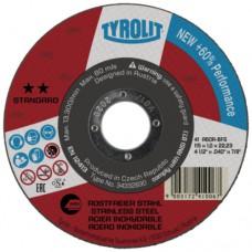 DOORSLYPSCHYF RVS VLAK 125X1.0X22.2 STANDAARD TYROLIT