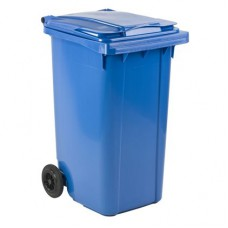AFVALCONTAINER BLAUW 240LTR