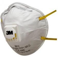 3M MONDMASKER 8812 MET VENTIEL FFP1