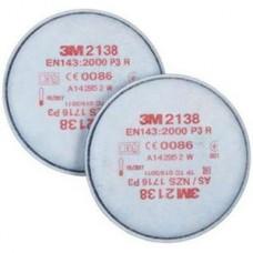 3M STOFFILTER 2000-SERIE SL/OZON P3 2138 PER PAAR