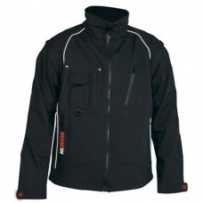 JACK SOFT SHELL ZWART MT.L