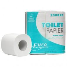 EURO TOILETPAPIER 200 VEL 2-LAAGS PAK A 4 ROL SUPER
