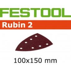 FESTOOL SCHUURSTROOK RUBIN STF-DELTA/100X150/7 P80 PAK A 10 STUKS