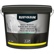 RUST-OLEUM MUURVERF PROJECT MAT INTERIEUR 10 LTR