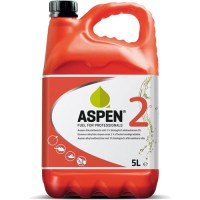 ASPEN BENZINE 2-TAKT (ROOD) MILIEUVRIENDELIJK CAN A 5 LITER