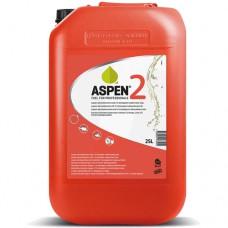 ASPEN BENZINE 2-TAKT (ROOD) MILIEUVRIENDELIJK CAN A 25 LITER