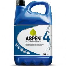 ASPEN BENZINE 4-TAKT (BLAUW) MILIEUVRIENDELIJK CAN A 5 LITER