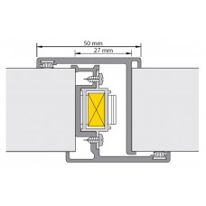ALPROKON DEURNAALD P-PREFAB-2 VOOR NEMEF 4119/17 LENGTE 2200MM BINNEN-BUITEN PKVW