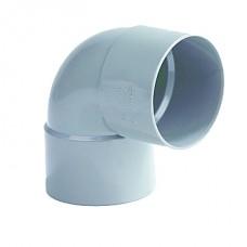 BOCHT 2X MOF PVC 90 GRADEN 40MM