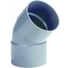 BOCHT 2X MOF PVC 45 GRADEN 50MM