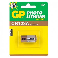 BATTERY GP CR 123 ALI 3,0V1,4AH