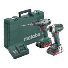 COMBOSET BS 18 + SSD 18 2X2.0AHMETABO
