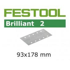 FESTOOL SCHUURPAPIER BRILLIANT P220 PAK A 100 STUKS NML