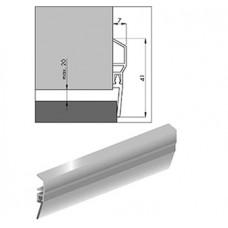 ELLEN TOCHTPROFIEL PDS 1000MMMAXIMAAL 20MM KIER PVC WIT