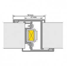 ALPROKON DEURNAALD ALU-2000 LIPS 2400/T24 LENGTE 220CM