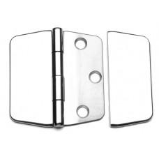 SCHARNIER MET BLINDE RING 75X74 RVS A4