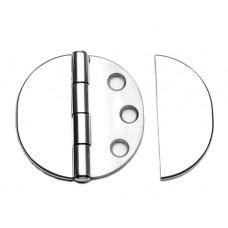 SCHARNIER MET BLINDE RING 65X65 RVS A4 GV