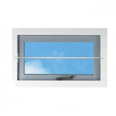 SECUBAR BARRIERESTANG RVS ZONDER ROZET 16X990MM 2010.355.002