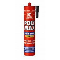 POLY MAX HIGH TACK EXPRESS 435GR ZWARTGRIFFON
