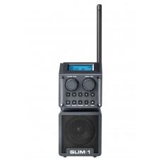 PERFECTPRO BOUWRADIO SLIM 1 FM RDS AUX-IN ANTRACIET