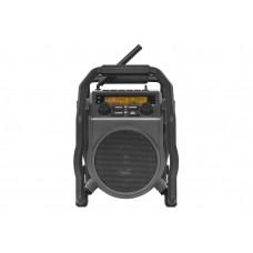 PERFECTPRO BOUWRADIO UBOX 400R FM RDS DAB+ BT AUX-IN ZWART