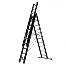 ALTREX LADDER MOUNTER ZR2060 2X12 SPORTS WERKHOOGTE 6.9MTR. IN A STAND 4.3MTR.