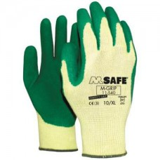 HANDSCHOEN LATEX M.SAFE GRIP.PP 11-540MT. 10