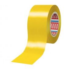 TESA ISOLATIETAPE 4163 MULTIFUNCTIONEEL PREMIUM ZACHT PVC GEEL DIKTE 0.13MM 50MM ROL 33MTR