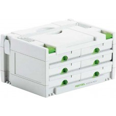 FESTOOL SORTAINER SYS 3-SORT /6